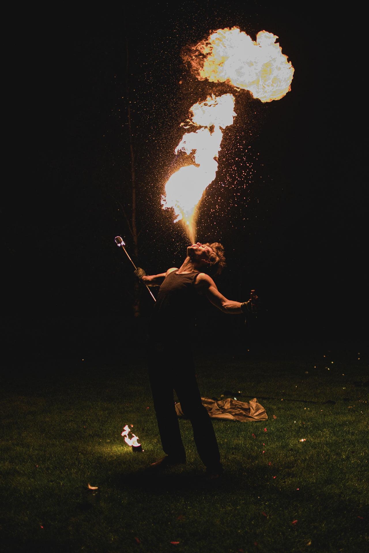 Plucie ogniem