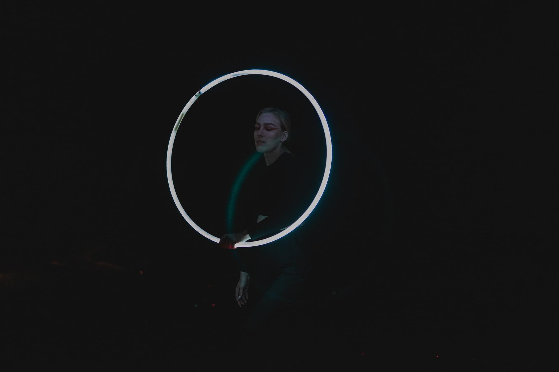 Light Show hula hoop