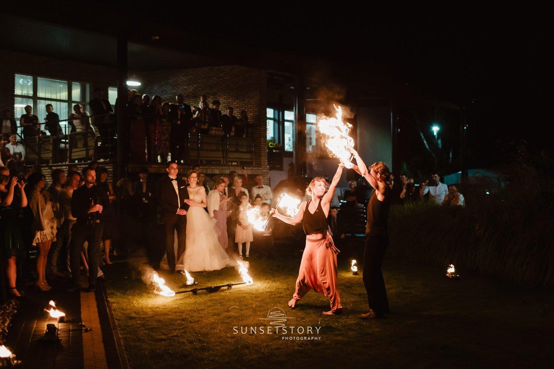 Fireshow duet